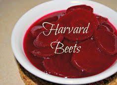 harvard beets thanksgiving food harvard beets and food