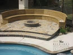 Richards Backyard Solutions by Fire Pits Houston Ship Design