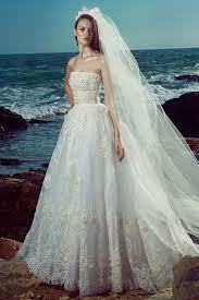 zuhair murad bridal spring 2017 collection vogue