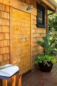 Outdoor Pool Shower Ideas - 15 outdoor showers that will totally make you want to rinse off in