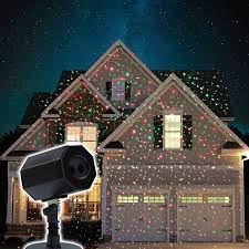 star shower magic motion laser spike light projector christmas animated stars laser light with timer memory red green