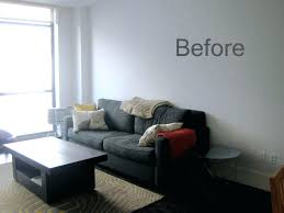 living room how to decorate with gray wall paint color black