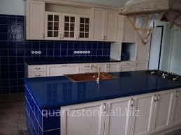 Quartz Table L Kitchen Table Top From Technistone Starlight Saphire Quartz Buy In