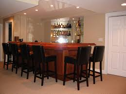 fresh finest finished basement with bar idea 3357