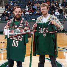 Bucks Fan Shows His Pride And Is Rewarded With Gear Courtside Seats