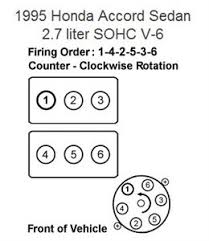 solved firing order for a 1995 honda accord lx v6 fixya