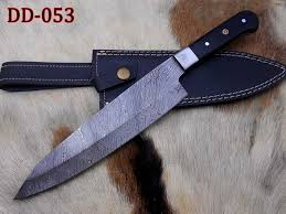 custom made kitchen knives damascus steel kitchen knife custom made 13 by damascusdepot on zibbet