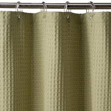Cotton Waffle Shower Curtain Waffle Weave Shower Curtain Uk Curtain Gallery Images