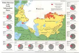map of europe russia and the independent republics russia and the former soviet republics maps perry castañeda map