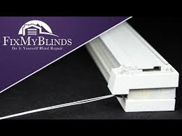 Fix My Blinds Com How To Restring A Cellular Honeycomb Shade Hunter Douglas Youtube