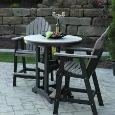 Patio Bar Height Table And Chairs by Garden Classic 38