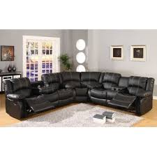 Sectional Reclining Sofas Leather Reclining Sectionals You Ll Wayfair