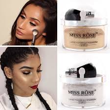 Makeup Contour miss brand 2 in 1 highlighter makeup contour palette make up