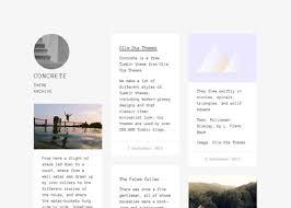 tumblr themes free aesthetic 16 best free minimal tumblr themes hipsthetic