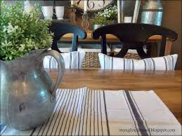 Console Table Used As Dining Table My Ugly Split Level Dining Room Finally