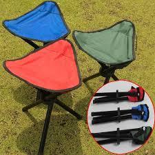 si e de plage pliant portable cing randonnée pliant pliable tabouret trépied chaise