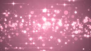 gentle pink frame of bokeh lights and blinking abstract