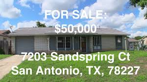 cheap hud homes hud king tours 7203 sandspring ct youtube