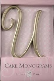 lillian cake topper x monogram wedding cake topper by lillian small gold