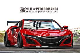 new sriracha inspired lexus comes liberty walk presented an upgrade package for the new honda nsx