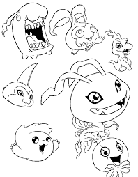 digimon coloring pages free cartoon coloring pages
