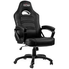 Gaming Chair Leather Home Nitro Concepts