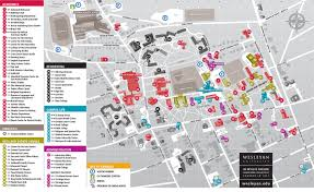Usa Campus Map by Campus Map About Wesleyan University