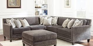 gray studded sectional sofa www energywarden net