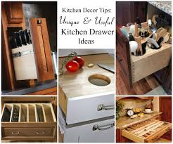 kitchen drawer storage ideas kitchen decor tips 5 unique kitchen drawer ideas