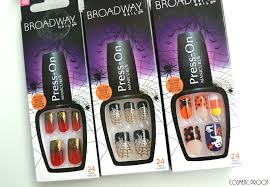 nails happy halloween from kiss nails cosmetic proof