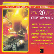 murfie music 20 christmas songs by the canterbury choir with strings