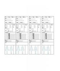 nursing report sheets templates are premade templates of paper