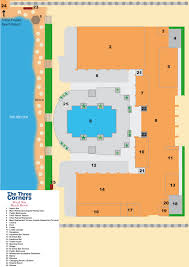 ground plan threecorners royal star beach resort