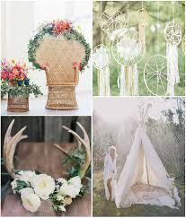 mariage boheme chic idées tendances pour décorer sa réception de mariage boho chic