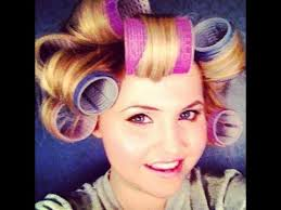 pageant curls hair cruellers versus curling iron hair tutorial with velcro rollers youtube