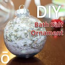 bath salt ornament easy and for anyone especially get