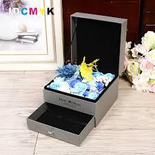blumen geschenke zur hochzeit platz floristen verpackung geschenk blumen box enthalten schublade