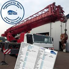 mobile crane inspection checklist the best crane 2017