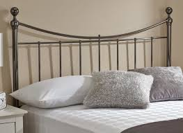 Black Headboards For Double Beds by Metal Headboards For Double Bed 143 Stunning Decor With Full Image