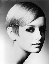 probably thes most famous pixie cut of all time twiggy 1960
