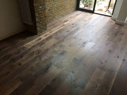 Hand Scraped Oak Laminate Flooring Tumbled London Dark Oak Engineered Hand Scraped And Contra Sawn