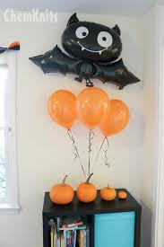 halloween baloons chemknits lucky u0027s halloween birthday party
