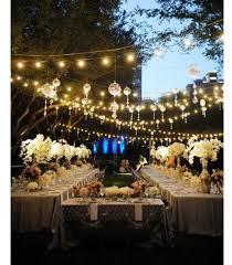 david tutera fairy lights outdoor reception david tutera wedding it s a s