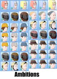 the sims 3 hairstyles and their expansion pack mod the sims cas hat hiders for all expansions and stuff packs