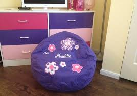 Personalized Kid Chair Obviously Holiday Lillian Vernon Personalized Kids Bean Bag
