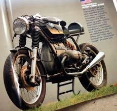bmw motorcycle cafe racer casey u0027s bmw cafe racer in bikecraft magazine