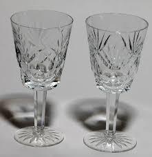 dining room elegant waterford wine glasses for inspiring