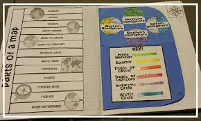 Prime Meridian Map Teel U0027s Treats The World Interactive Notebook Activity