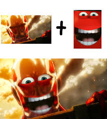 Happy Meal Meme - scary happy meal mascot attack on titan anime pinterest happy