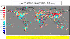 World Temperatures Map by C3 4 Modern Temps Accelerating Dangerous Or Not